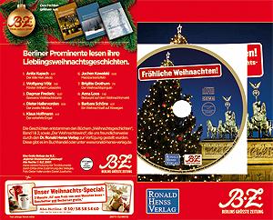 Berliner Prominente lesen Weihnachtsgeschichten